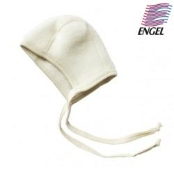 ENGEL - Bio Baby Fleece Mütze, Wolle, natur