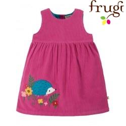 "frugi - Bio Baby Cord Kleid ""Lily"" mit Igel-Applikation"