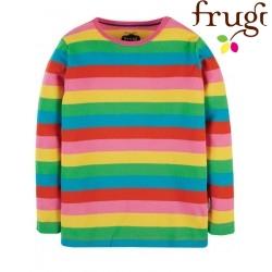 frugi - Bio Kinder Langarmshirt Regenbogen