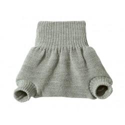 disana - Bio Baby Windelhose, Wolle, grau
