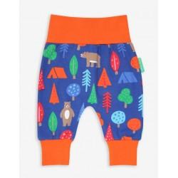 Toby tiger - Bio Baby Sweathose mit Bären-Allover