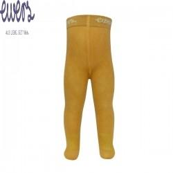 Ewers - Bio Kinder Strumpfhose uni, herbstgold