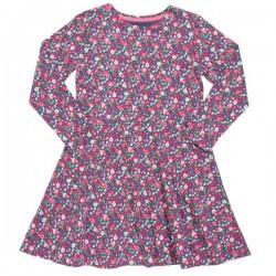 kite kids - Bio Kinder Jersey Kleid mit Blumen-Motiv