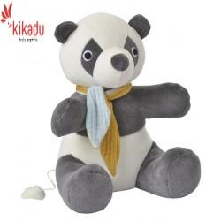 """Kikadu - Bio Spieluhr Panda """"Brahms Guten Abend, gute Nacht"""", 22cm"""
