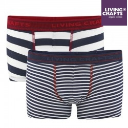 LIVING CRAFTS - Bio Kinder Shorts Doppelpack