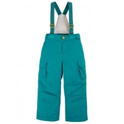 frugi - Kinder Skihose, türkis
