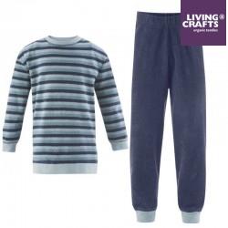 LIVING CRAFTS - Bio Kinder Frottee Schlafanzug langarm