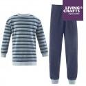 LIVING CRAFTS - Bio Kinder Flanell Schlafanzug langarm