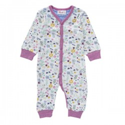 People Wear Organic - Bio Baby Strampler mit Mäuse-Allover