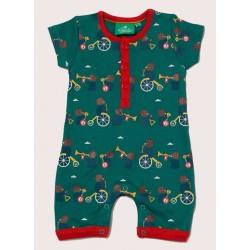 Little Green Radicals - Bio Baby Spieler mit Bären-Allover