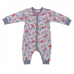 People Wear Organic - Bio Baby Strampler mit Blumen-Allover