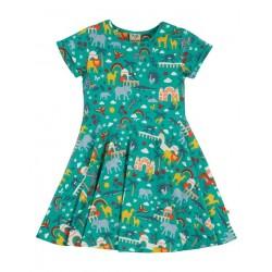 """frugi - Bio Kinder Jersey Kleid """"Spring"""" mit Indien-Allover"""