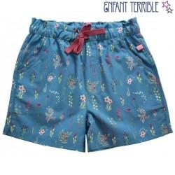 Enfant Terrible - Bio Kinder Shorts mit Wiesenblumen-Allover