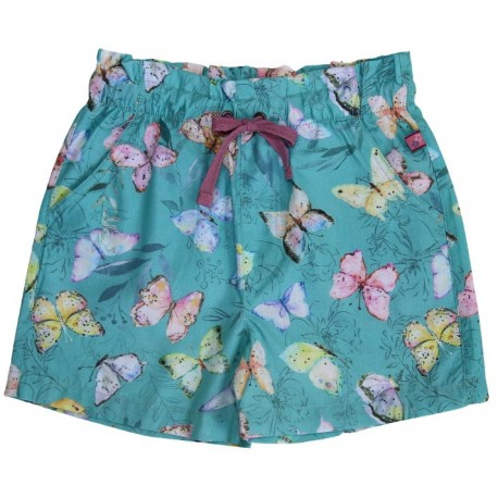 Enfant Terrible - Bio Kinder Shorts mit Schmetterlingen-Allover