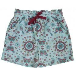 Enfant Terrible - Bio Kinder Shorts mit Mosaik-Allover