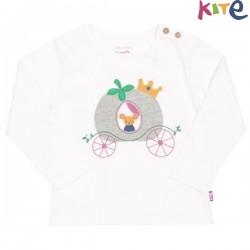 kite kids - Bio Kinder Langarmshirt mit Maus-Druck