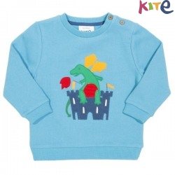 kite kids - Bio Kinder Sweatshirt mit Drachen-Applikation