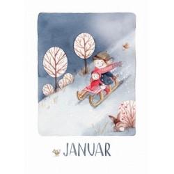 """Kartenset """"Monatskarten"""" von Stefanie Messing"""