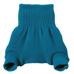 disana - Bio Baby Windelhose, Wolle, blau