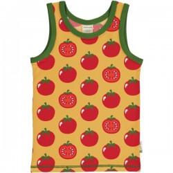 Maxomorra - Bio Kinder Unterhemd mit Tomaten-Allover