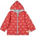 loud + proud - Bio Kinder Jacke mit Clownfisch-Druck, wasserabweisend