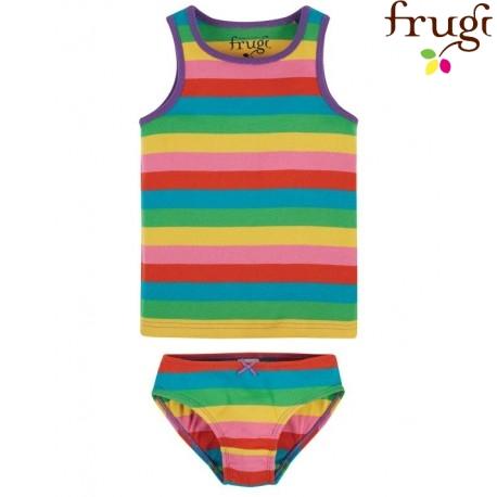 frugi - Bio Kinder Unterwäsche Set Regenbogen