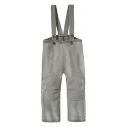 disana - Bio Kinder Walkhose, Wolle, grau