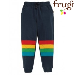frugi - Bio Kinder Sweathose mit Regebogen-Patches