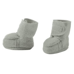 disana - Bio Baby Walkschuhe, Wolle, grau