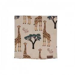 Walkiddy - Bio Kinder Schlauchschal mit Giraffen-Allover