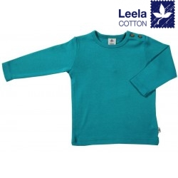 Leela Cotton - Bio Kinder Langarmshirt, lapis