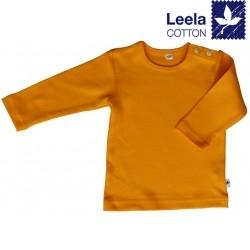 Leela Cotton - Bio Kinder Langarmshirt, sonnengelb