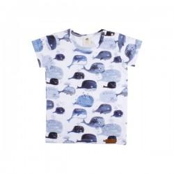 Walkiddy - Bio Kinder T-Shirt mit Babywal-Allover