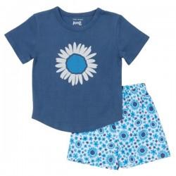 kite kids - Bio Kinder Schlafanzug mit Gänseblümchen-Druck