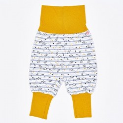 """Cheeky Apple - Bio Kinder Jersey Hose """"Goldschiffchen"""""""
