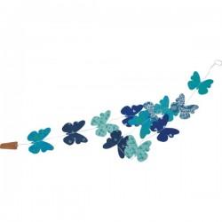 """Tudi Billo- Papier Girlande """"Blumen"""", Durchmesser 4-9 cm"""