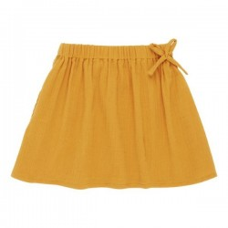 "Sense Organics - Bio Kinder Musselin Rock ""Gyda"", orange"