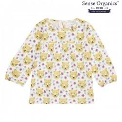 "Sense Organics - Bio Baby Tunika ""Edith"" mit Leoparden-Allover"