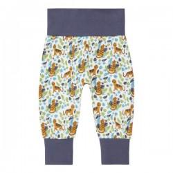 "Sense Organics - Bio Baby Jersey Hose ""Sjors"" mit Tiger-Allover"