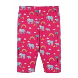 """frugi - Bio Kinder Shorts """"Laurie"""" mit Elefanten-Allover"""