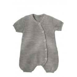 disana - Bio Baby Strick Spieler, Wolle, kieselgrau