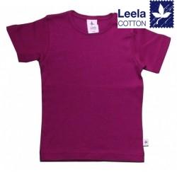 Leela Cotton - Bio Kinder T-Shirt, fuchsia