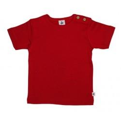 Leela Cotton - Bio Kinder T-Shirt, ziegelrot
