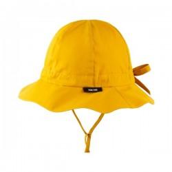 pure pure by BAUER - Bio Kinder Sonnehut mit Krempe, UPF 25-39, mango