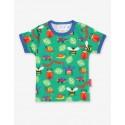 Toby tiger - Bio Kinder T-Shirt mit Käfer-Allover