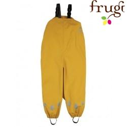 frugi - Kinder Regenhose, gelb