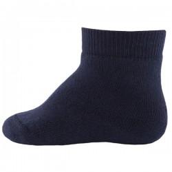 Ewers - Bio Kinder Socken uni, marine