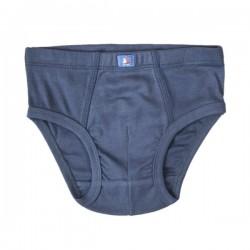 People Wear Organic - Bio Kinder Unterhose, blau