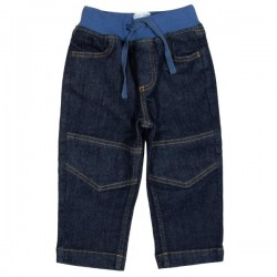 kite kids - Bio Kinder Jeans mit Softbund, blau
