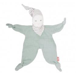 Kikadu - Bio Puppe Mint, 24cm
